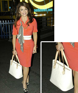 Paula Abdul Louis Vuitton Monogram Vernis Houston