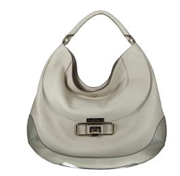 Anya Hindmarch cooper calf leather in cream handbag