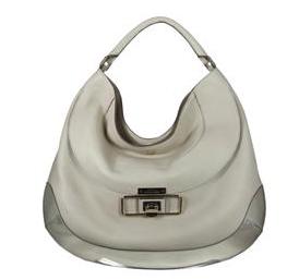 Anya Hindmarch cooper calf leather in cream handbag