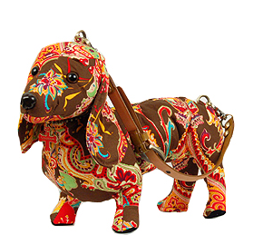 Fuzzy Nation Dachshund Warm Paisley