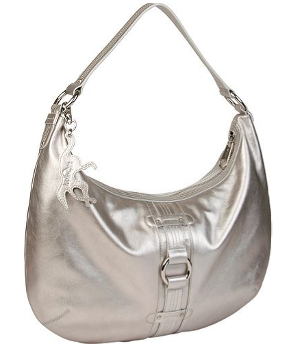 Kipling Tara Large Shoulder Bag- Silver Glam