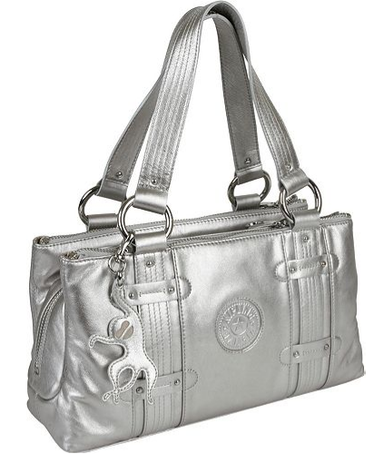 Sophie Silver Glam Kipling Shoulder Bag