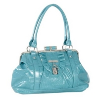 Aqua Nicola framed shoulder bag