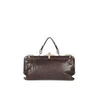 Creazioni Mazzini Vintage Italian Leather Frame Handbag