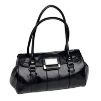 Black Worthington medium shoulder bag